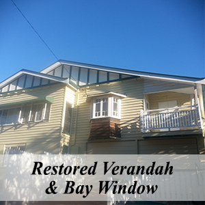 Restored Verandah & Bay Window