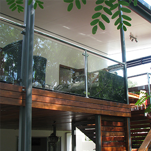 Glass and Stainless Steel Balustrade 02