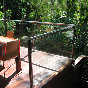 Glass and Stainless Steel Balustrade 03