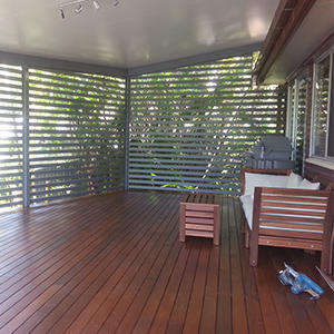 Safe and Private Outdoor Family Room After 03
