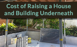 Cost of Raising a House and Building Underneath